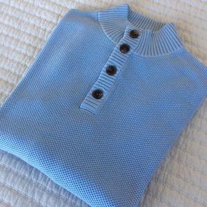 Brooks Brothers mock neck sweater - Med